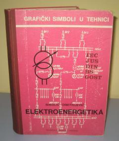 ELEKTROENERGETIKA grafički simboli , Nikolić / Dimitrijević