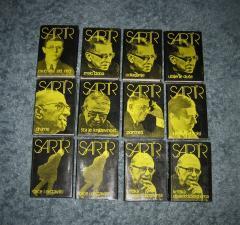 SARTR KOMPLET 12 knjiga , Žan Pol Sartr
