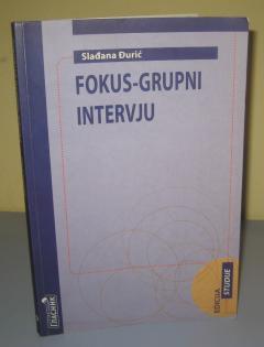 FOKUS GRUPNI INTERVJU , Slađana Đurić