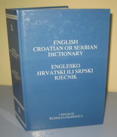 ENGLESKO HRVATSKI ILI SRPSKI RJEČNIK , Rudolf Filipović