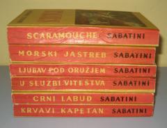 Rafael Sabatini komplet 6 knjiga  ***RASPRODATO****
