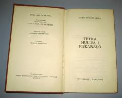TETKA HULIJA I PISKARALO - PRODATO