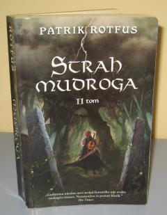 STRAH MUDROGA II tom , Patrik Rotfus
