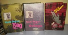 Karlo Štajner komplet 3 knjige