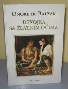 DEVOJKA SA ZLATNIM OČIMA , Onore de Balzak