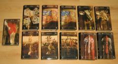 Leon Uris komplet 11 knjiga ***RASPRODATO****