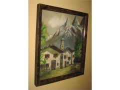 TIROL Austria akvarel