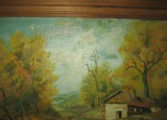 Pejzaž Kuća na obali Arnautović ulje