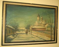 Zima D.Branković ulje na platnu