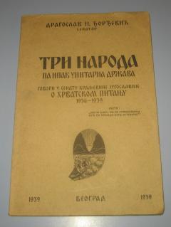 TRI NARODA pa ipak unitarna država 1939