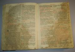 Franjevački misal i Misa svecima 1745