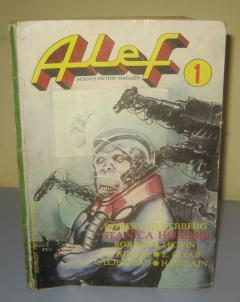 ALEF broj 1 science fiction magazin