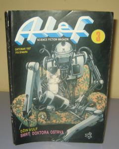 ALEF broj 3 , science fiction magazin