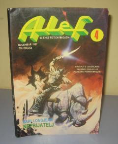 ALEF broj 4 , science fiction magazin