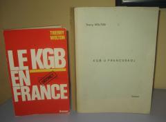 KGB U FRANCUSKOJ , Thierry Wolton RUKOPIS