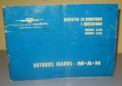 AUTOBUS IKARUS MAN uputstvo za rukovanje i održavanje