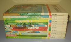 BIBLIOTEKA LJILJAN komplet 12 knjiga