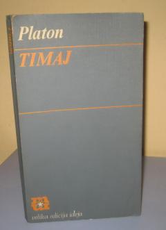 TIMAJ , Platon