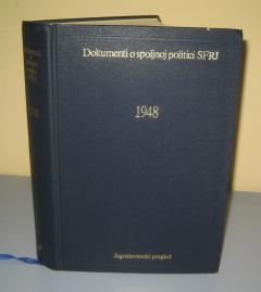 1948 Dokumenti o spoljnoj politici SFRJ