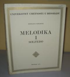 MELODIKA 1 SOLFEĐO , Zorislava Vasiljević