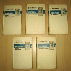 KATERINA komplet 5 knjiga Juliette Benzoni