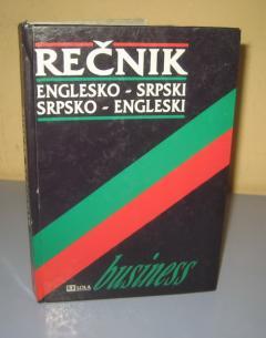 BUSINESS REČNIK ENGLESKO SRPSKI SRPSKO ENGLESKI