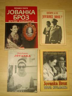 JOVANKA BROZ lot 4 knjige