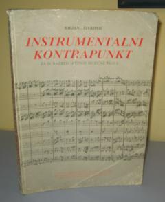 INSTRUMENTALNI KONTRAPUNKT za IV razred srednje muzičke škole