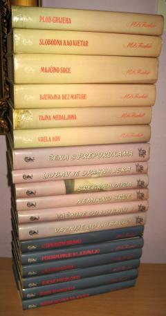 MARI LUIS FIŠER komplet 18 knjiga ****PRODATO*****