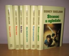 Sidni Šeldon komplet 6 knjiga ****PRODATO*****
