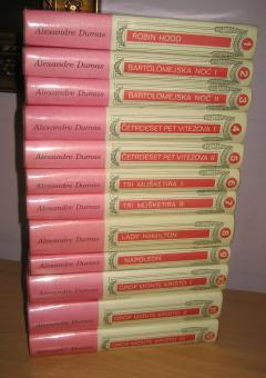 DIMA komplet 12 knjiga
