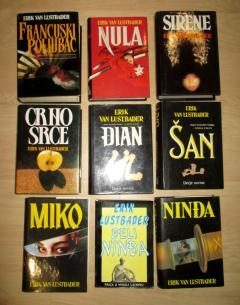 Lustbader komplet 9 knjiga