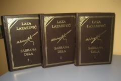 LAZA K. LAZAREVIĆ KOMPLET 3 KNJIGE