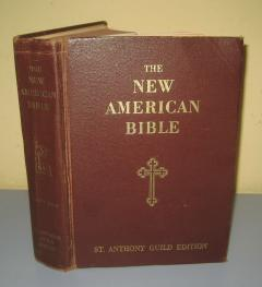 The NEW AMERICAN BIBLE St. Anthony Guild Edition