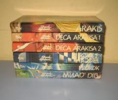 PEŠČANA PLANETA komplet 6 knjiga , Frenk Herbert