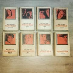 ANÐELIKA Ane i Serge Golon komplet 8 knjiga