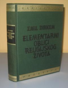 Elementarni oblici religijskog života Emil Dirkem