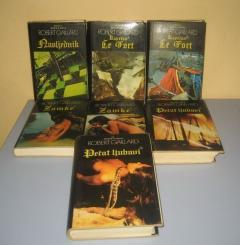 Marija s Antila komplet 7 knjiga Robert Gaillard