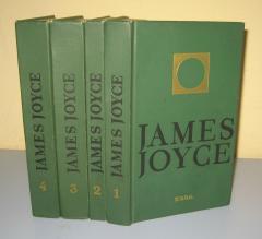Džejms Džojs komplet 4 knjige