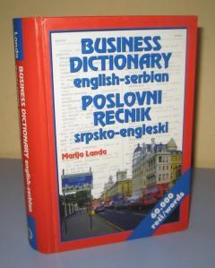 POSLOVNI REČNIK englesko srpski srpsko engleski