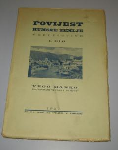 Povijest humske zemlje Hercegovine Vego Marko