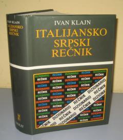 ITALIJANSKO SRPSKI REČNIK , Ivan Klajn