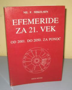 EFEMERIDE ZA 21. VEK od 2001. do 2050. za ponoć