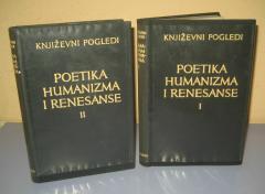 POETIKA HUMANIZMA I RENESANSE 1 i 2 ***RASPRODATO****