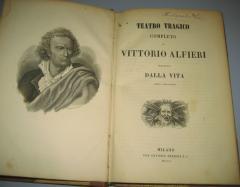 TEATRO TRAGICO completo di Vittorio Alfieri