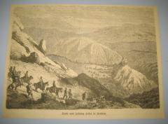 Sokol grad i tvrđava u Srbiji gravira oko 1870 god.