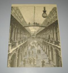 Aleksandar Obrenović isečak grafika 1890 god.
