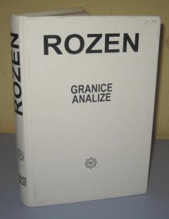 GRANICE ANALIZE , Stanli Rozen