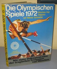 Olimpijske igre Minhen 1972 monografija na nemačkom jeziku