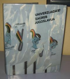 Univerzijada ' 87 Zagreb Jugoslavija monografija